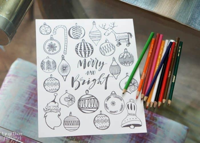 Free Christmas Printables Coloring Sheet Edited