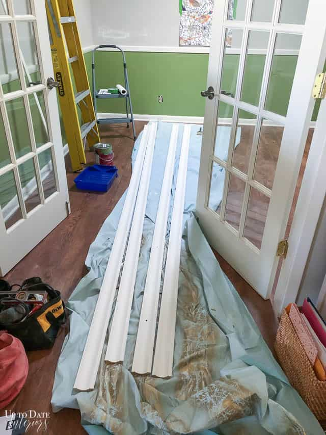 How To Install Cove Moulding Edited