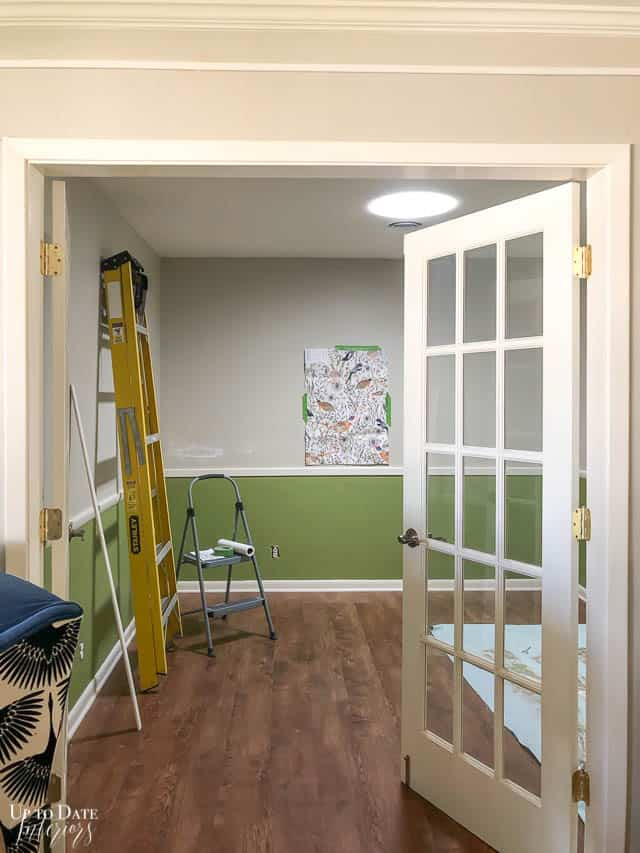 Office Makeover Paint Update 2