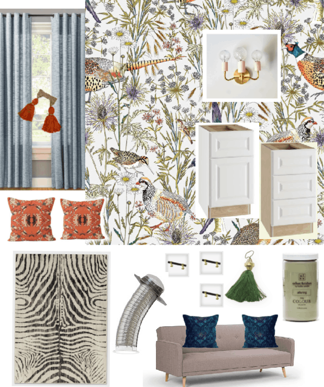 Office Mood Board With Target