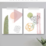 Abstract Printable Art Pinterest