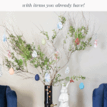 Easter Tree Pinterest Black
