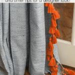 Adding Trim To Curtains Tips Designer Pinterest
