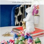 Decorate Plastic Easter Eggs Bunny Pinterest Black