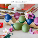 Decorated Plastic Eggs Pinterest Black