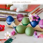 Decorated Plastic Eggs Pinterest Green