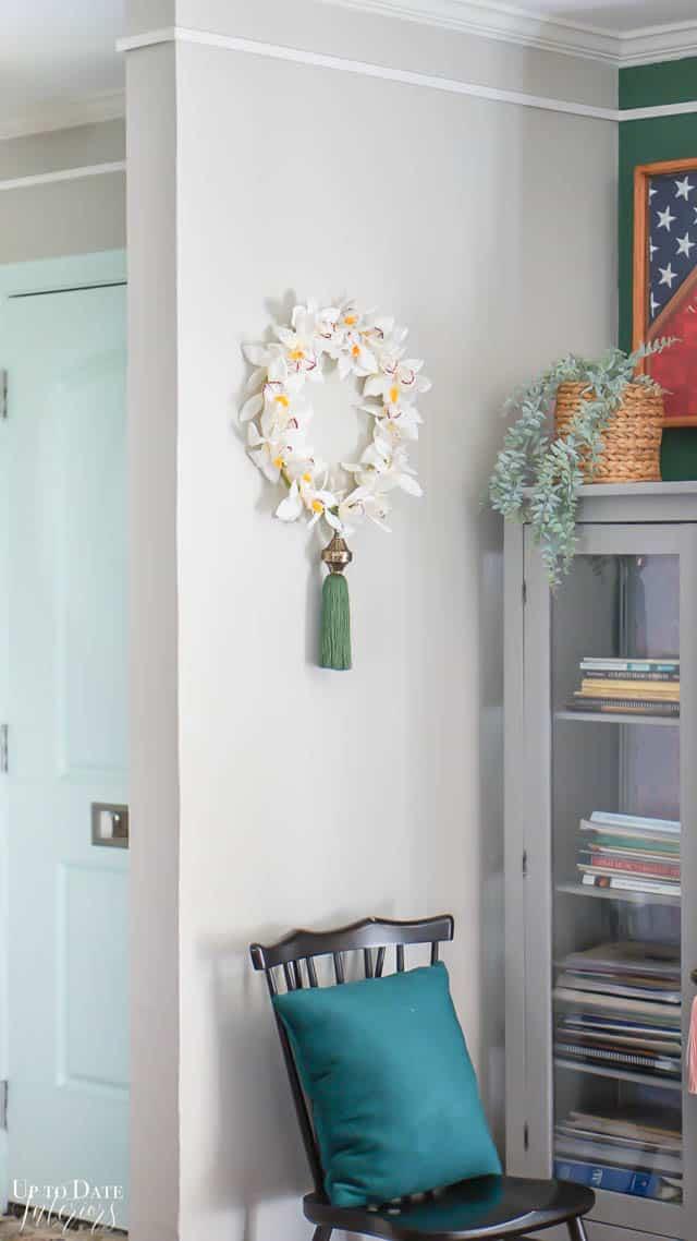Diy Orchid Wreath Edited 5