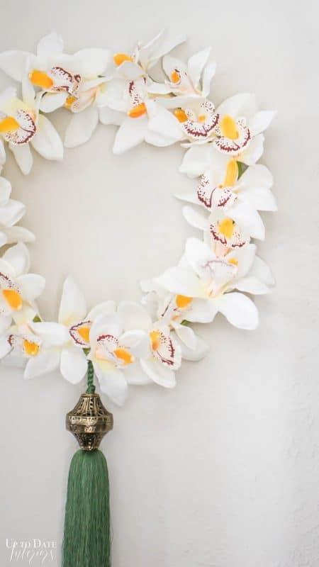 Diy Orchid Wreath Edited 6
