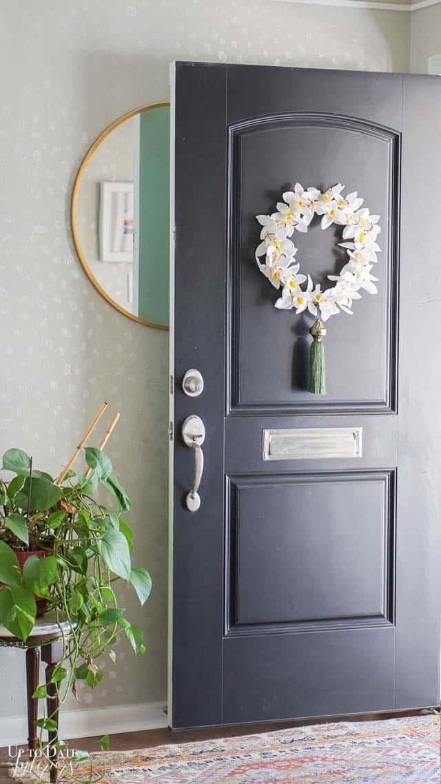 Diy Orchid Wreath Edited 7