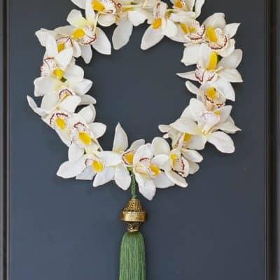 Diy Orchid Wreath Edited 8