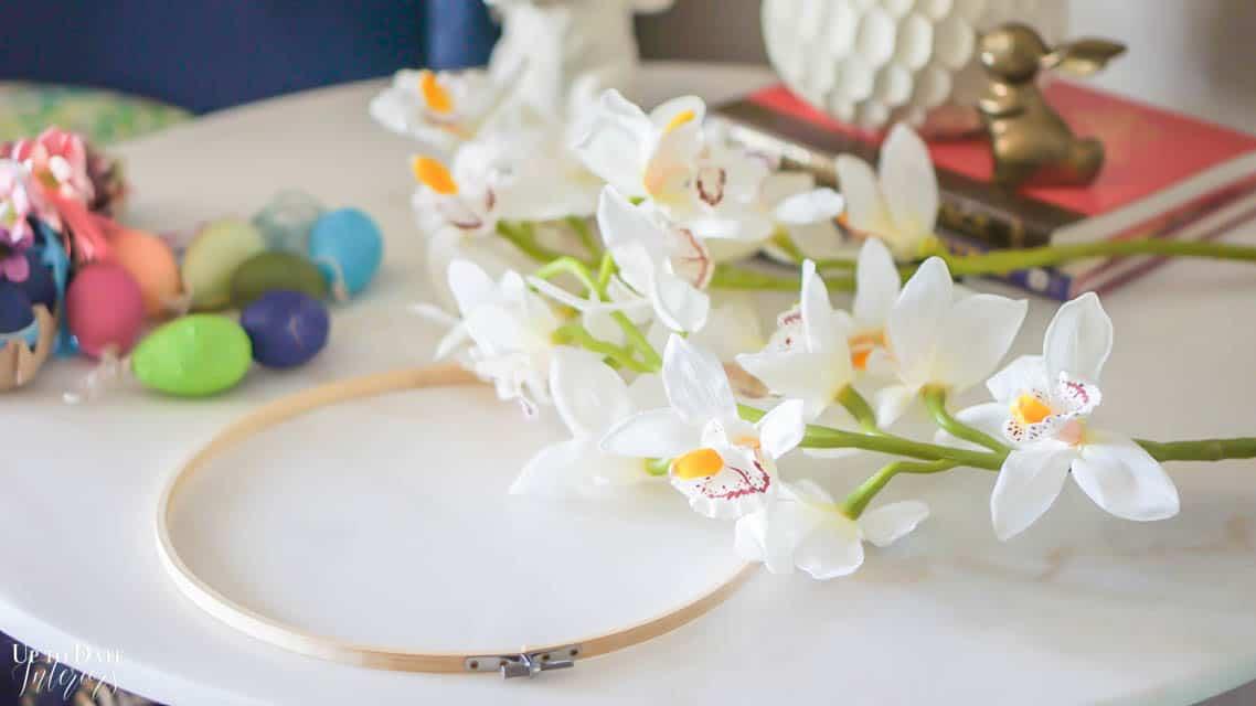 Diy Orchid Wreath Edited
