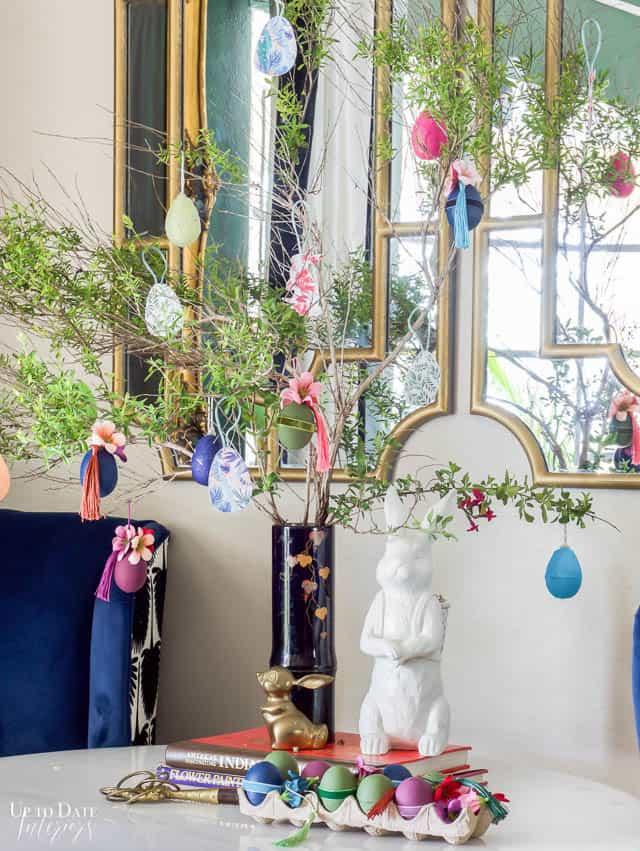 Easter Tree Diy Ornaments Edited