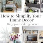 Simplify Home Decor Pinterest Black