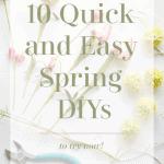 10 Spring Diys Pinterest Green