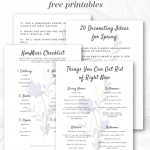 Checklists Spring Pinterest Black