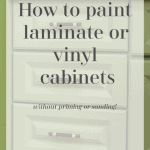 Paint Vinyl Cabinets Pinterest Black
