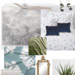 Bedroom Mood Board Pinterest Blue