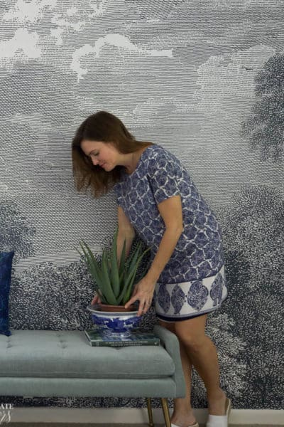 How To Hang Prepasted Wallpaper Edited