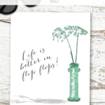Summer Printable Pinterest Green