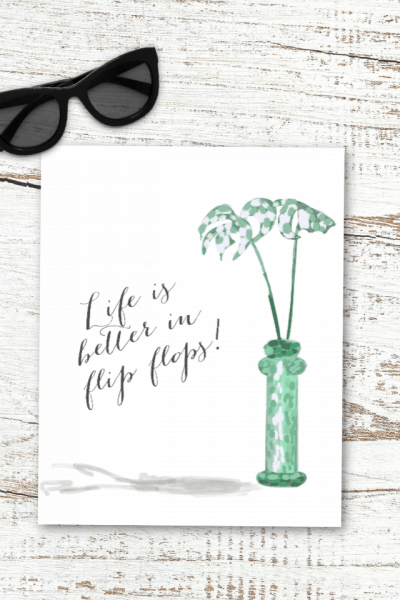 Summer Printable Styled