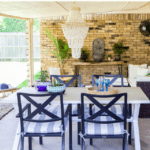 Ideas For Covered Outdoor Living Spaces Pinterest Blue