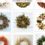 Modern Eclectic Wreaths Pinterest