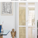 Cane Cabinet Fall Home Tour Pinterest