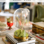 Fall Home Tour Cloche Pinterest
