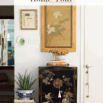 Fall Home Tour Foyer Pinterest