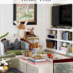 Fall Home Tour Living Room Pinterest