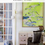 Fall Home Tour Office Pinterest