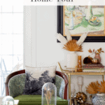 Fall Home Tour Pinterest Bar Cart