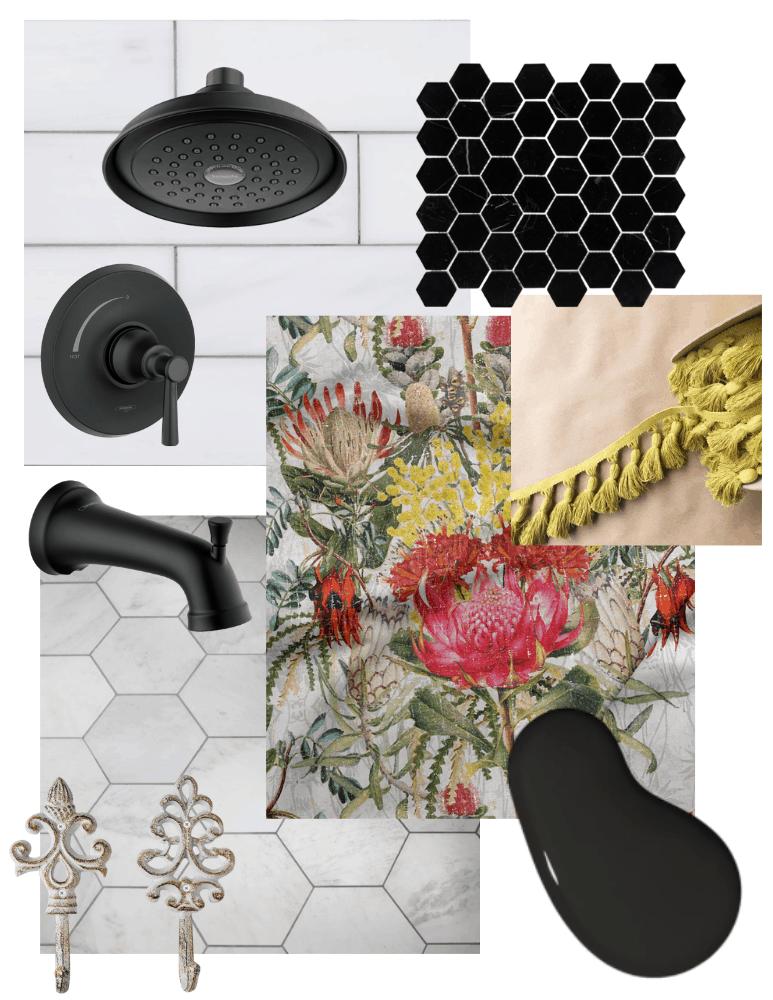 Eclectic Bathroom Ideas for the Bathtub Side