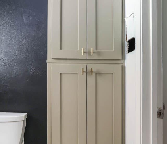 Black Wall Paint In The Bathroom Watermark 10