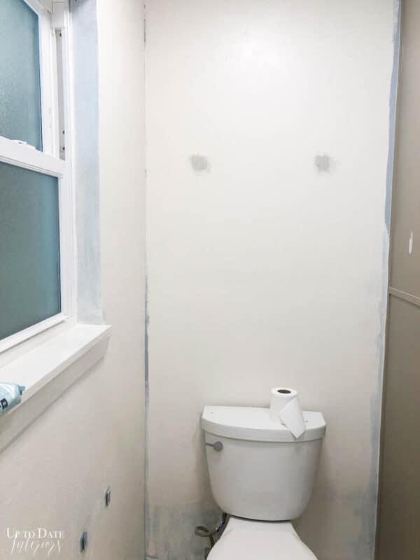 Black Wall Paint In The Bathroom Watermark 6
