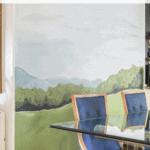 Diy Landscape Mural Dining Room Pinterest