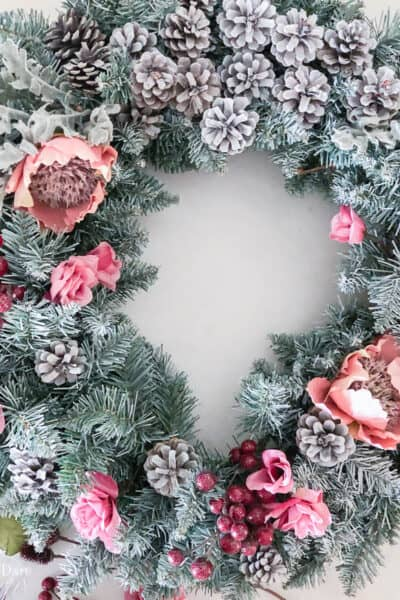 How To Make An Artificial Christmas Wreath Resized Watermark 3