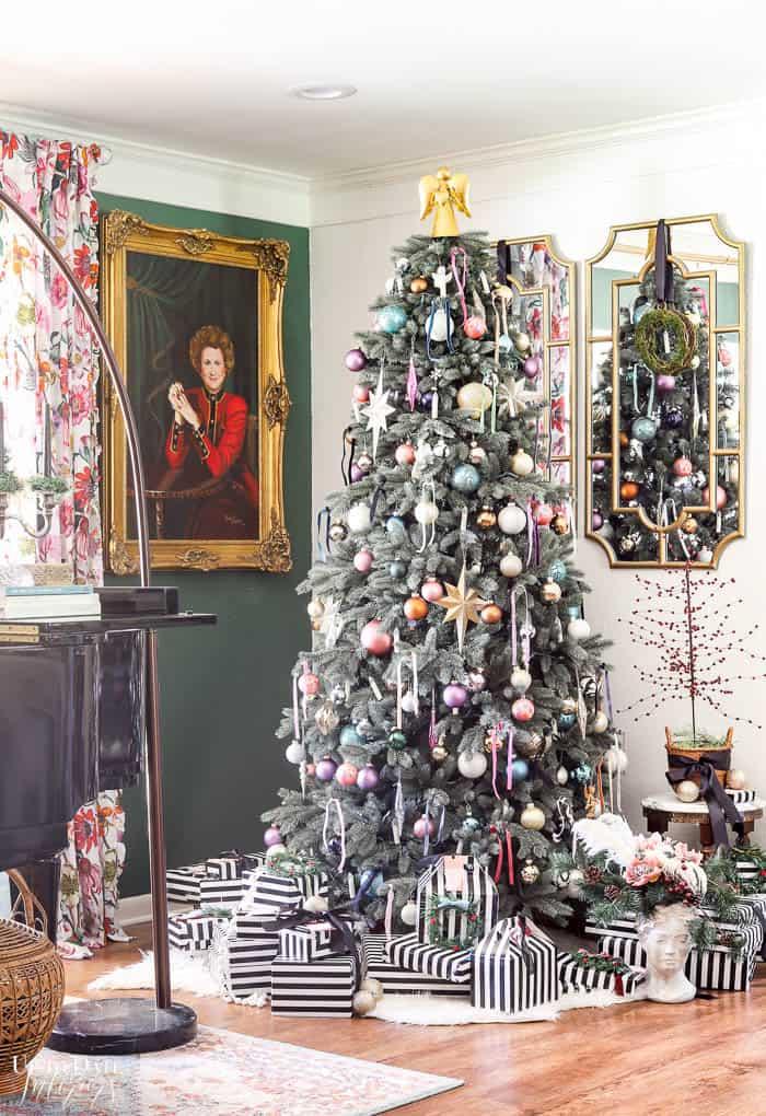 Modern French Bohemian Christmas Tree Resized Watermark 13