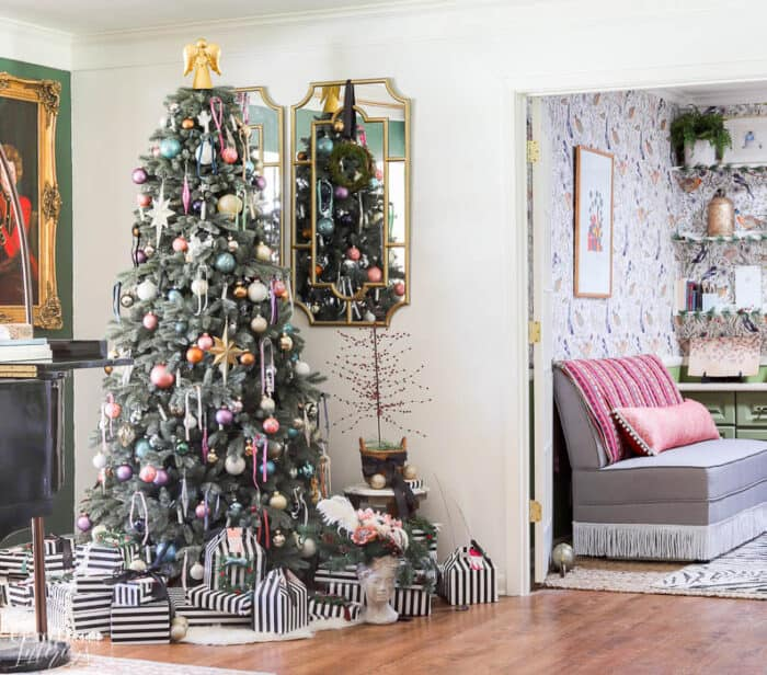 Modern French Bohemian Christmas Tree Resized Watermark 14