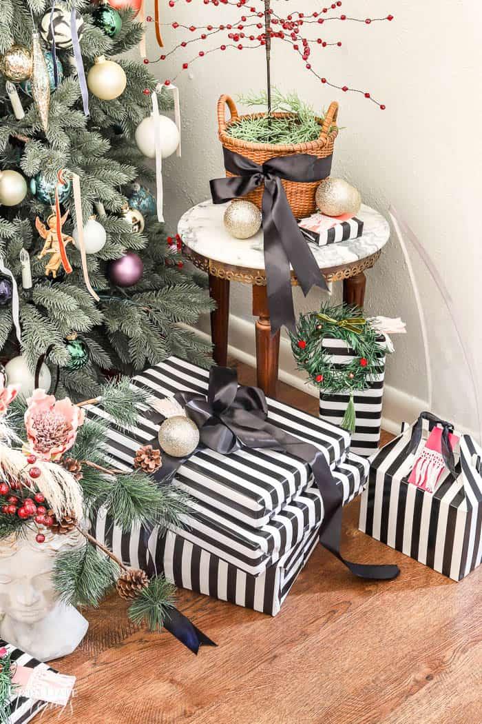 Modern French Bohemian Christmas Tree Resized Watermark 20