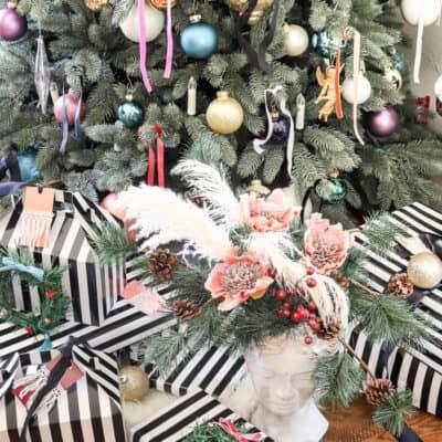Modern French Bohemian Christmas Tree Resized Watermark 21