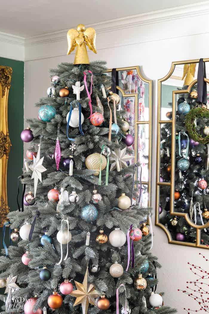 Modern French Bohemian Christmas Tree Resized Watermark 24