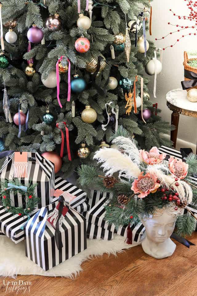 Modern French Bohemian Christmas Tree Resized Watermark 6