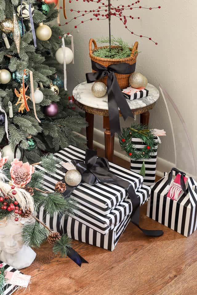 Modern French Bohemian Christmas Tree Resized Watermark 8
