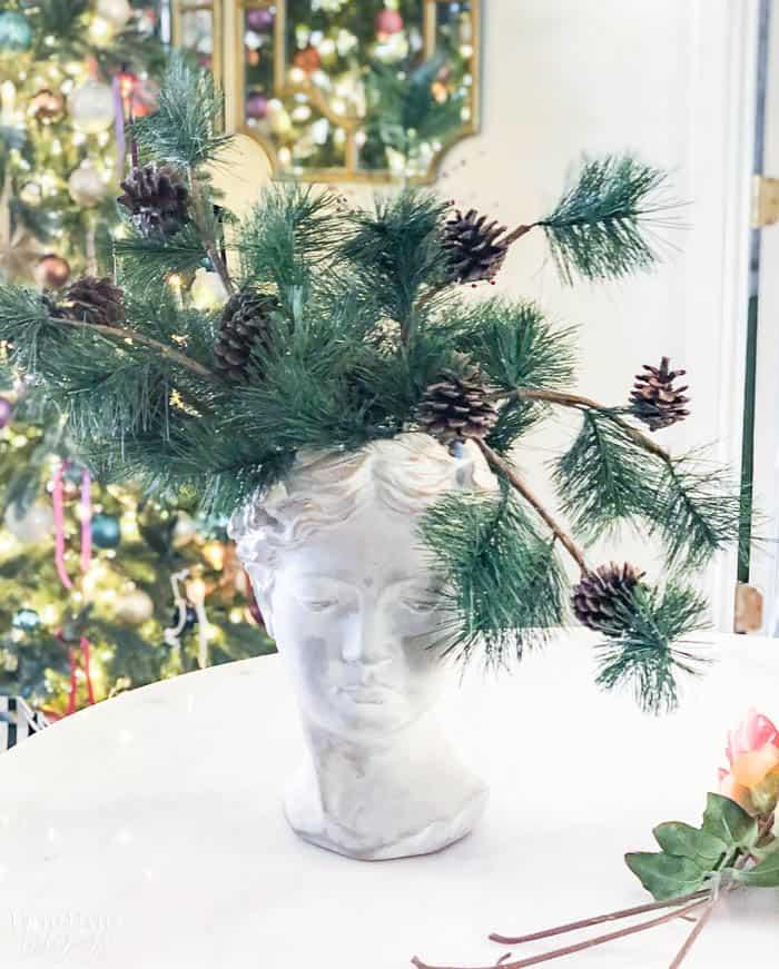Christmas Floral Arrangement Resized Watermark 4