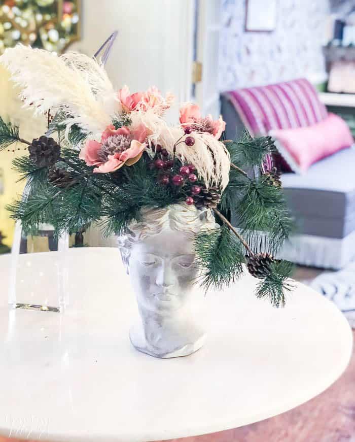 Christmas Floral Arrangement Resized Watermark 6
