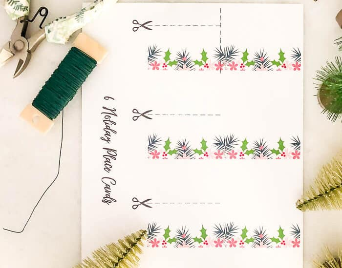 Christmas Printable Place Cards Edited Watermark 4