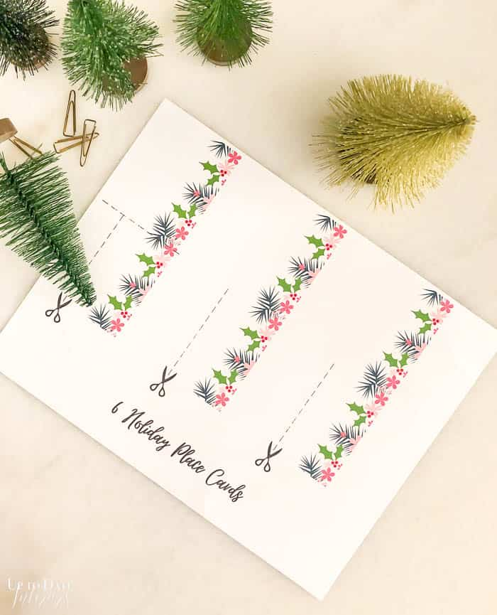 Christmas Printable Place Cards Edited Watermark