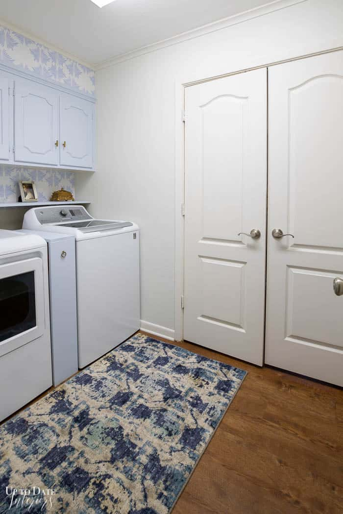 Diy Laundry Room Makeover on a budget full shot of the room Edited 3