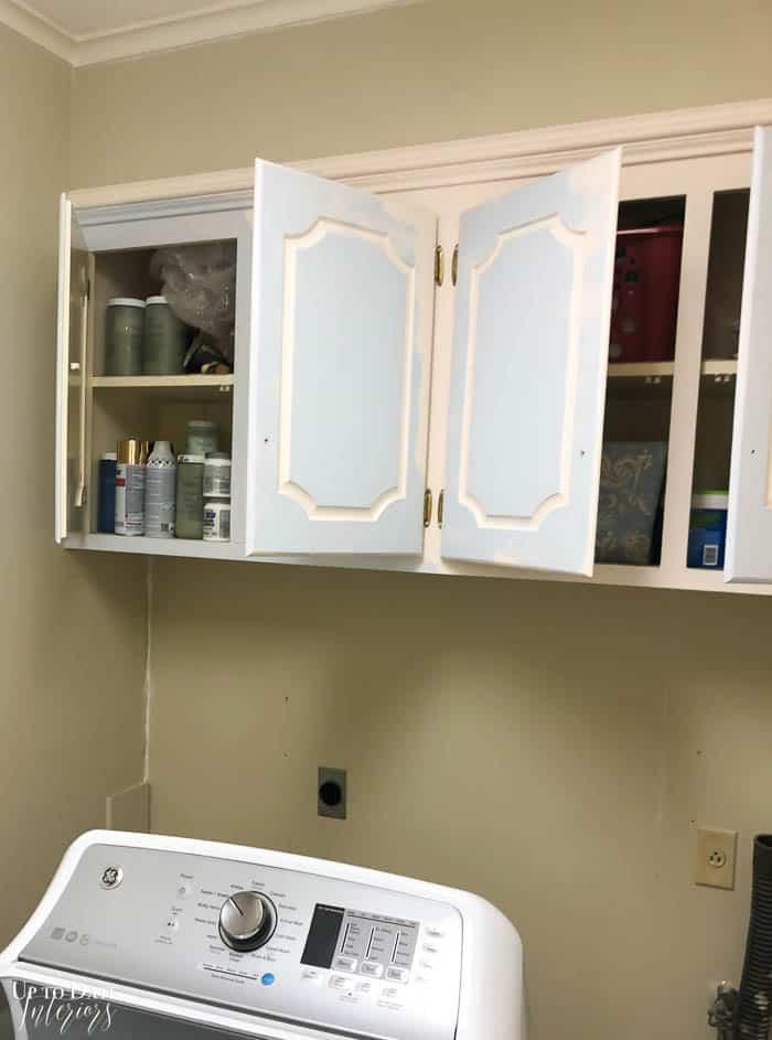 Blue White Laundry Room Update Resized Watermark 3